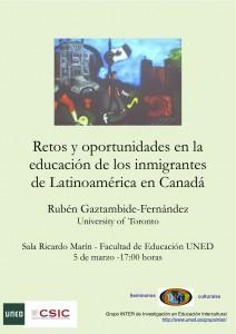 Seminarios interculturales Rubén Gaztambide